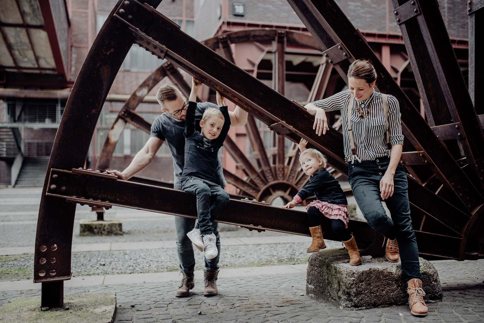 Natürliche Familienfotografie im Ruhrgebiet