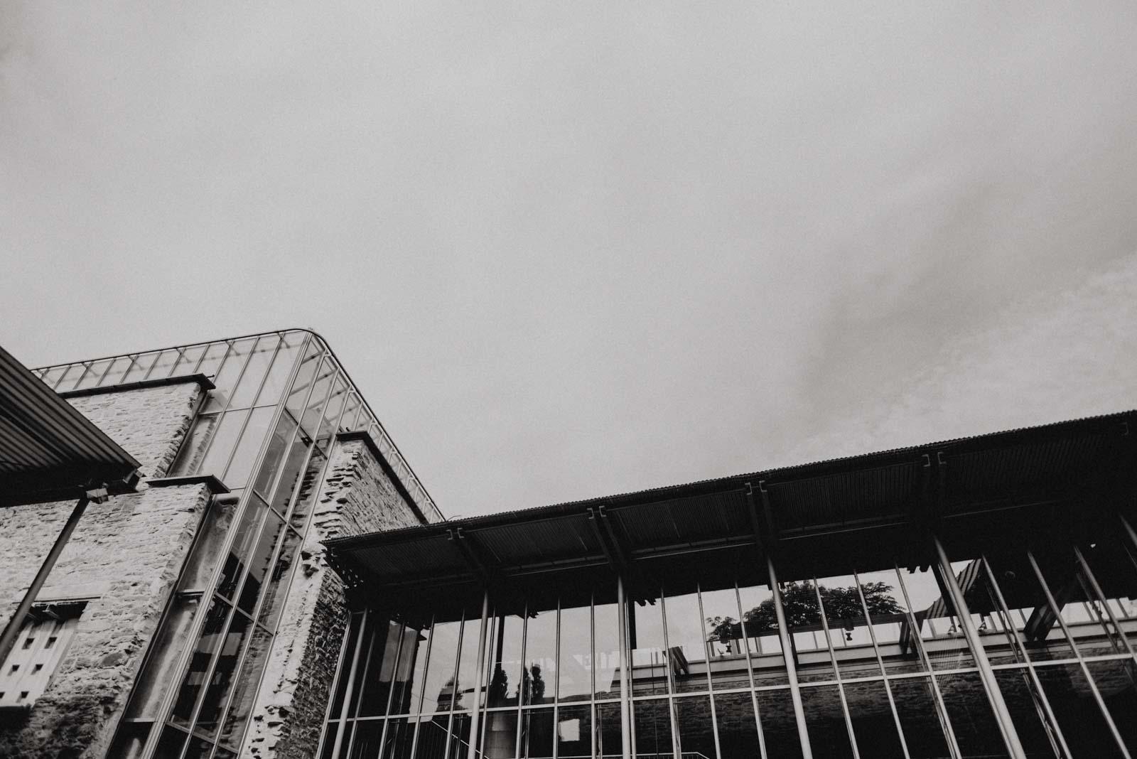Glasfront Haus Witten