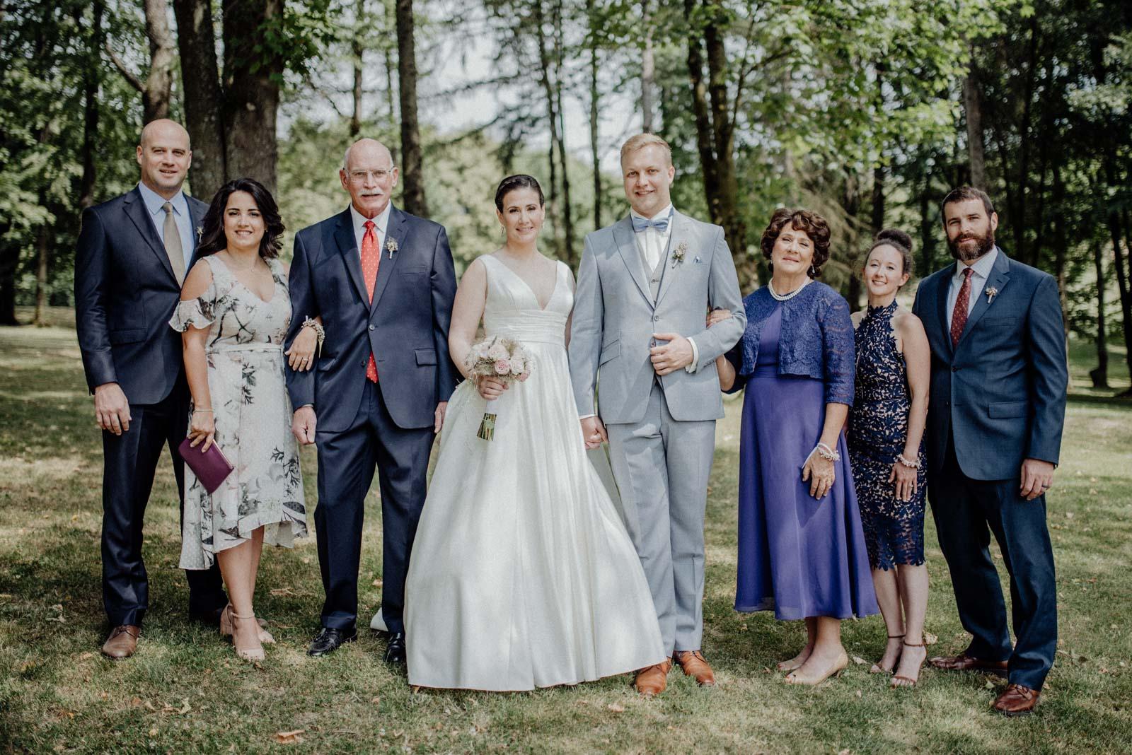 Die Familie der Braut aus Amerika