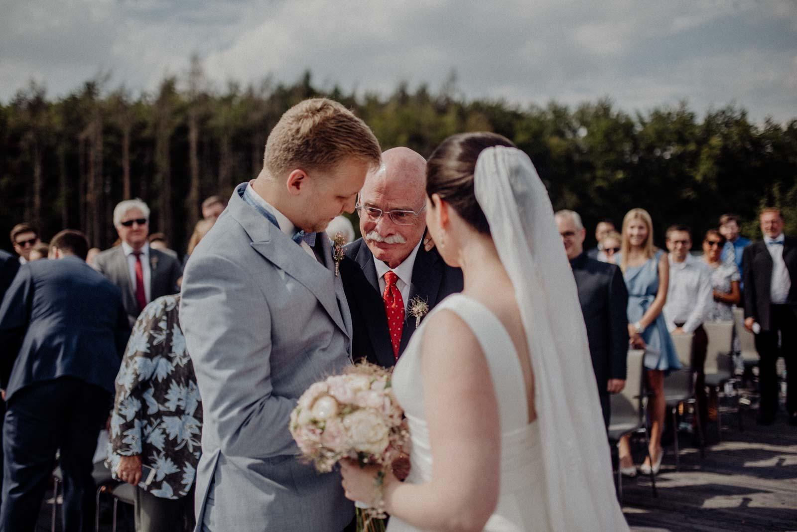 Einmarsch der Braut mit Brautvater