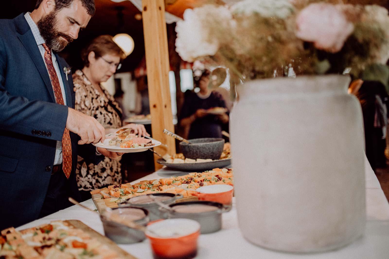 Hochzeitsbuffet im Golfhotel Vesper