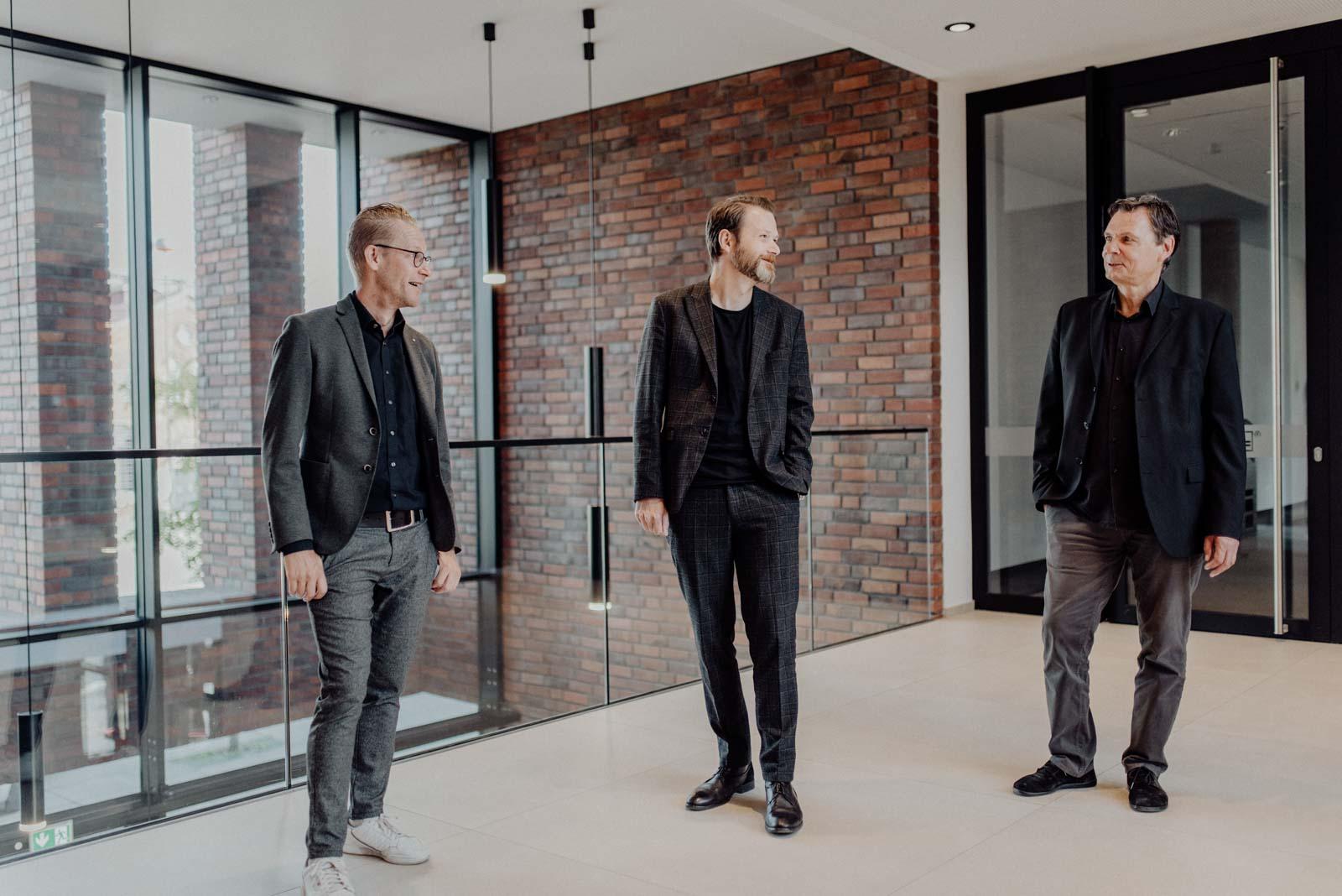 Gruppenbild Geschäftsfuehrung SHA Dortmund