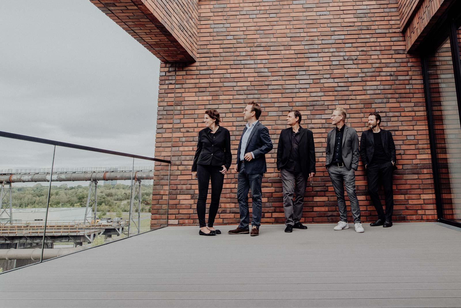 Gruppenbilder der SHA Architekten