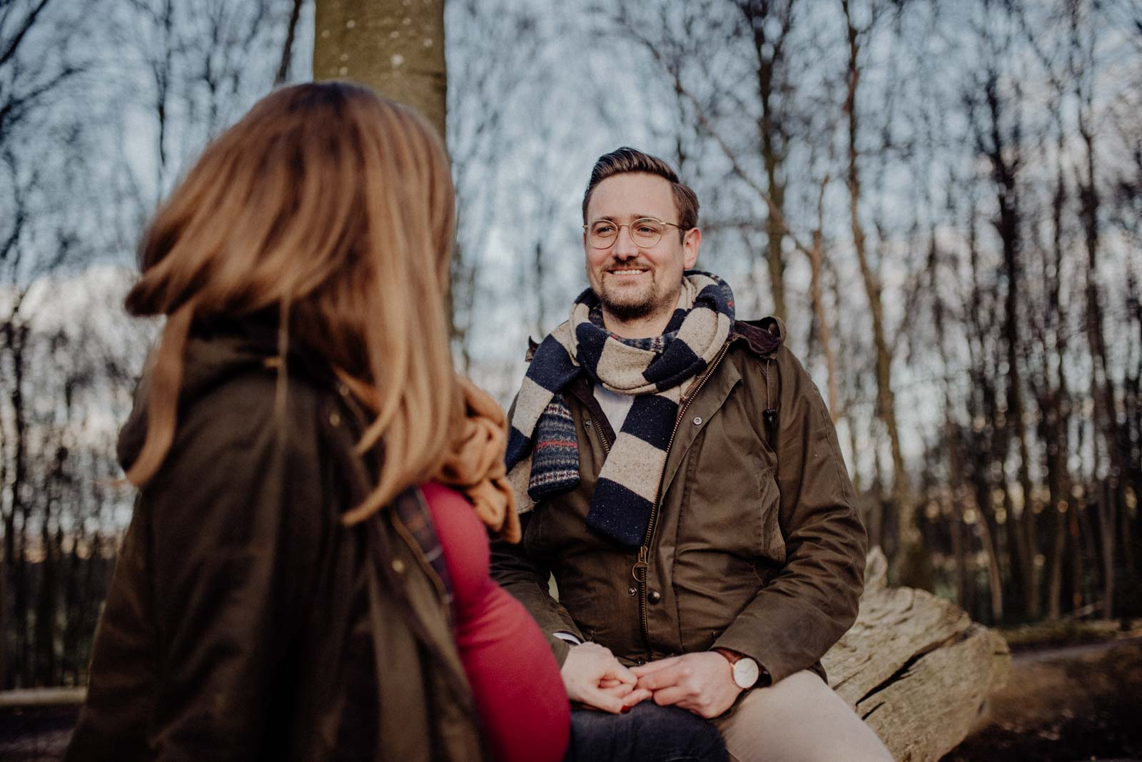 009-Babybauch-Shooting-Wald-Natur-Witten-Familienfotografie-Familienfotos