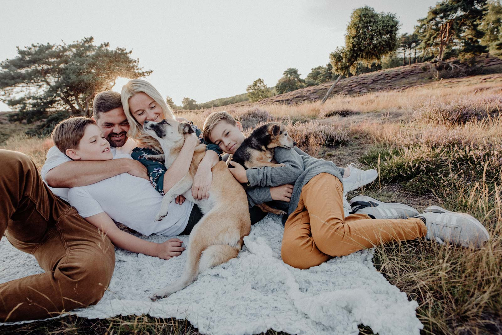 034-Familienfotos-Familienreportage-Heideshooting-natürlich-Heide